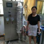 上海雅程中试型实验室喷雾干燥机用户照片