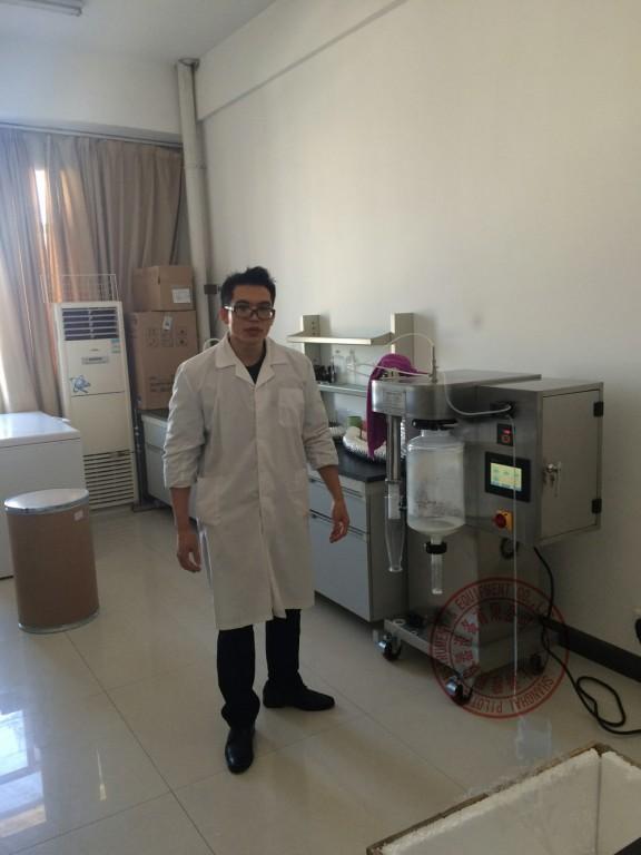 微型喷雾干燥机用户实验室照片